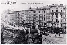 1906 Hermannplatz Ecke Berliner Strasse (heutige Karl-Marx-Strasse)