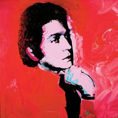 """""""I know what women want. They want to be beautiful."""" - Valentino. Valentino Garavani by Andy Warhol."""