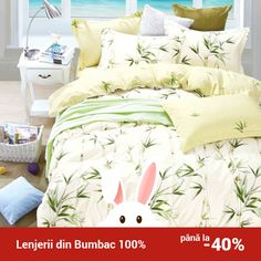 Lenjerie de pat din bumbac Valentini Bianco TB010/60 Pillow Shams, Pillows, Duvet Cover Sets, Cover Pillow, House Layouts, Comforters, Blanket, Collection, Bed
