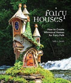 Fairy House Crafts, Fairy Tree Houses, Fairy Village, Fairy Garden Houses, Garden Crafts, Diy Fairy Garden, Fairytale House, Gnome House, Fairy Doors