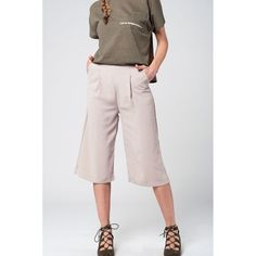 Stand out from the crowd and make them believe that you are special Tailored beige cu... Check what we have for you !  http://ladieswishlist.com/products/tailored-beige-culotte-with-pockets?utm_campaign=social_autopilot&utm_source=pin&utm_medium=pin