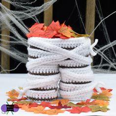 Mummy Legs Gift Basket crochet pattern by Blackstone Designs