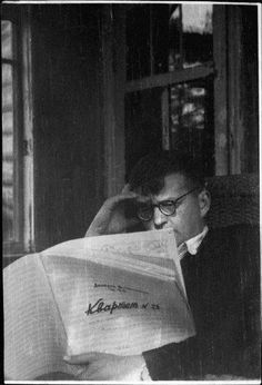 Shostakovich working on String Quartet 3 in the summer of 1946