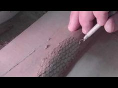 How to Make Snake Scales in Clay For Facejugs