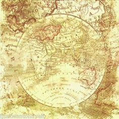 imagenes de decoupage de mapas grandes - Buscar con Google
