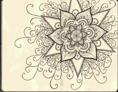 coloriage-adulte-anti-stress-13 #mandala #coloriage #adulte via dessin2mandala.com