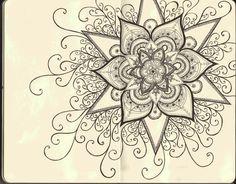 coloriage-adulte-anti-stress-13 #mandala #coloriage #adulte via dessin2mandala.com