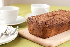 Zucchini Apple Spice Loaf with Cinnamon Sugar Topping | Healthful Pursuit