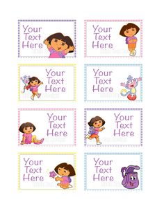 Dora the Explorer Coloring Pages Free Dora Coloring Pages