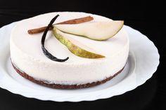 Verdade de sabor: Шоколадно-грушевый торт с панна коттой / Torta de chocolate e pêra com panna cotta