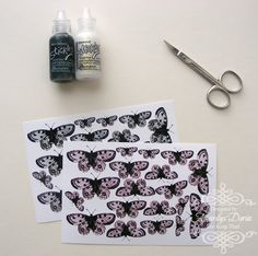 Amarilys's Scrappy Corner: monday...butterfly tutorial