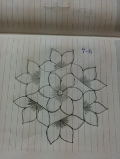 Rangoli Indian Rangoli Designs, Rangoli Designs Latest, Simple Rangoli Designs Images, Rangoli Designs Flower, Rangoli Border Designs, Rangoli Patterns, Rangoli Ideas, Rangoli Designs With Dots, Rangoli With Dots