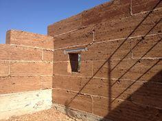 6º - Neste caso, utilizamos vergas para os vãos, em betão pré-moldado.