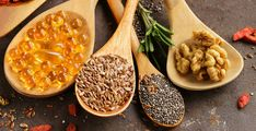 Vegan Omega 3 Sources, Heart Healthy Snacks, Vegan Egg Substitute, Vitamin A Foods, Coconut Sauce, Fatty Fish, Vegan Foods, Healthy Foods, Plant Based Diet