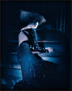 From Fall Winter 2012-13 Collections: Starry night - click on the photo to see all garments and accessories in Photogallery.