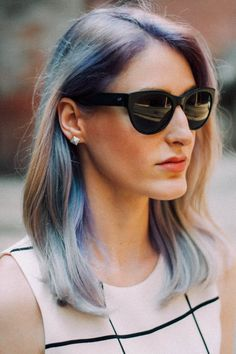 Opal Hair: metallic silver melting into pastels and washed out, rainbows. It reflects different tones that shimmer as you move in the light. Opal hair colors are soft, iridescent, pearl and translucent cool tones, with flecks of glowing brighter tones. #opalhair