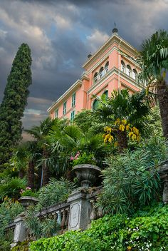 "Verenna Villa ~ Lake Como, Italy ~ Miks' Pics ""Vintage Architecture"" board @ http://www.pinterest.com/msmgish/vintage-architecture/"