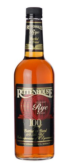 Rittenhouse Rye 100 Proof | Intensely woody aromas and succulent marshmallow, bakery and lanolin scents spring forth. The fat palate entry oozes butter cream, dark caramel, and brown sugar tastes; the midpalate focuses more on the grain aspect as the flavor becomes toasty, fruity and honeyed. Ends honey sweet, decadent and maple-like.