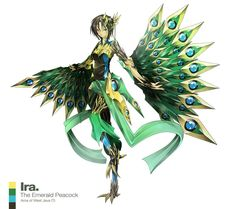 Ira / The Emerald Peacock / Arca of West Java (Indonesia)