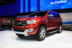New 2016 Ford Endeavour is expected on the market by the end of 2015. Ford Endeavour 2016 is based upon the concept of Everest, with some elements from other Ford designs. It is mostly intended for the Indian market, however it is possible to export to other markets.