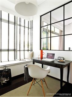 Bay window for study room