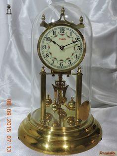 5d23b305560 Relógio Antigo De Mesa 400 Dias Forest Ville Porcelana DÉCADA DE 50 -