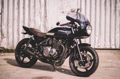 Kawasaki Zephyr 550 Cafe Racer - Retro Bikes Croatia. Una moto que te traerá los buenos recuerdos de los años 70 y 80.