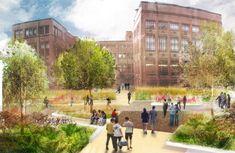 OOBE designs distinctive spaces for Newcastle University