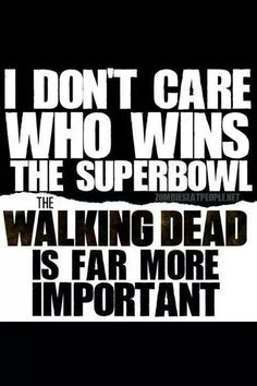 The Super Bowl < The Walking Dead