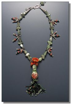 Poppy Necklace by Mary Hicklin (Virgo Moon)