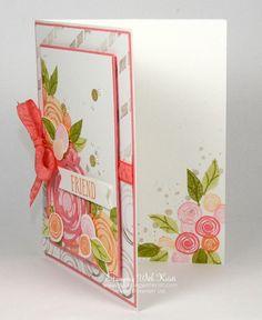 Stampin Up Swirly Bird card by Kristi @ www.stampingwithkristi.com