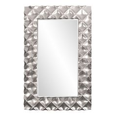 A stunning modern accent, the Elizabeth Austin Krystal Modern Mirror - Silver - x in. makes the most out of your contemporary-style entryway,. Silver Floor Mirror, Oversized Floor Mirror, Mirror Glass, Leaner Mirror, Mirror With Shelf, Mirrors Online, Round Mirrors, Wow Products, Krystal