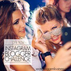 Want to take our Blogger Instagram challenge? - http://www.secretbloggersbusiness.com/blog-posts/blogger-instagram-challenge/