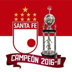 Independiente SantaFe campeón liga águila 2016 II - 9a estrella