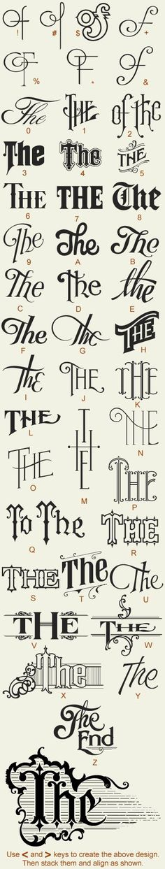 Letterhead Fonts / LHF Noel's Thes & Ands    Great example of how to make mundane letters interesting