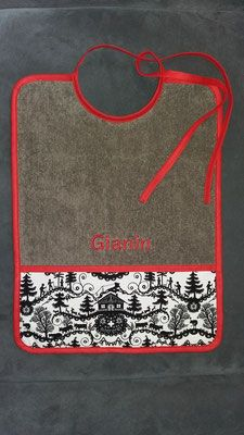 Embroidery For Beginners Shop for bibs and bed-bottles with name embroidery. Give a handgefe . Name Embroidery, Embroidery On Clothes, Embroidery Patterns, Machine Embroidery, Embroidery For Beginners, Embroidery Techniques, Shops, V Stitch, Modern Christmas