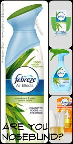 Febreze #Noseblind Test & Prize Pack Giveaway! Including a $60 AMEX GC (ends 8/3)
