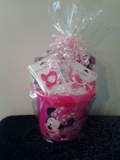 Minnie Mouse Gift Basket