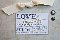 Modern Save the Date Magnet or Card - Happily Ever After by Etsy seller PinchOfSpice Rustic Wedding Save The Dates, Modern Save The Dates, Our Wedding, Dream Wedding, Wedding Stuff, Wedding Ideas, Wedding Card, Wedding Decor, Save The Date Magnets