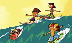 With all the insane tricks they did, how did the Rocket Power gang manage to avoid breaking every single bone in their body? 35 Important Questions Nickelodeon Still Needs To Answer Rocket Power, 90s Childhood, Childhood Memories, Power Tv Show, Saturday Morning Cartoons, Old Shows, Funny Tattoos, Fan Art, Cartoon Shows