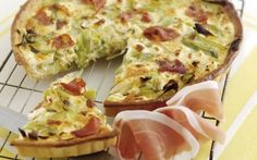 Look at this recipe - Welsh Wine, Goat's Cheese, Leek and Parma Ham Tart - and other tasty dishes on Food Network. Food Network Uk, Food Network Recipes, Welsh Recipes, Scottish Recipes, Parma Ham, Savoury Baking, Picnic Foods, Tart Recipes, Uk Recipes