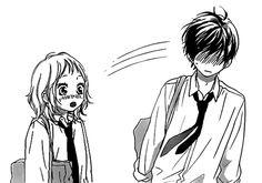 strobe edge discovered by ʚ♡ɞ on We Heart It Manga Love, I Love Anime, Otaku, Strobe Edge, Wallpapers For Mobile Phones, Manga Artist, Manga Pages, Cute Characters, Shoujo
