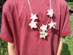 """My son had a fantastic idea for keeping cool on hot and muggy days... ICE NECKLACE S! His little sister was ready instantly...""""Can we make t..."""
