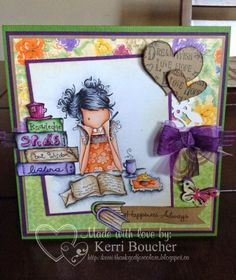 Kerri has Jayden loves to Journal from Stamping Bella. More details on the blog.