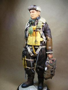 'Lefty' - US Bomber crewman WW2 - By Boot25