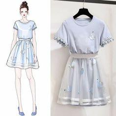 17 Ideas for fashion sketches model haute couture Kpop Fashion, Asian Fashion, Cute Fashion, Trendy Fashion, Girl Fashion, Womens Fashion, Style Fashion, Winter Fashion, Fashion Tips