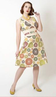 С чем носить платье в стиле стиляг