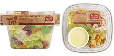 fresh express salad packaging 2 Salad Meals Packaging