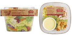 fresh express salad packaging 2 Salad Meals Packaging