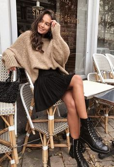 53 stylish winter looks to try this season Designer . - 53 stylish winter looks to try this season Designers Designer Clothing - Mode Outfits, Trendy Outfits, Dress Outfits, Fashion Outfits, Fashion Trends, Womens Fashion, Fashion Ideas, Fashion 2017, Fashion Tips